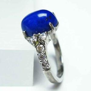 ラピスラズリ 指輪 t746-2747|ginza-todo