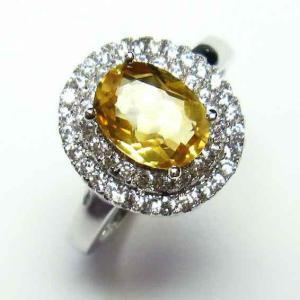 シトリン 指輪 t75-5775|ginza-todo