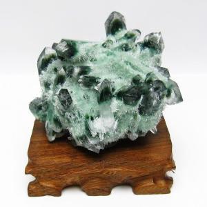緑水晶 グリーンクォーツ クラスター t802-1550|ginza-todo