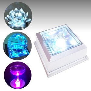 【新型LEDチップ搭載】 LEDライトステージ ディスプレイライト 66mm台座 小さめのフィギュアやディスプレイ展示に 【NKLS-15SL】|ginzagift