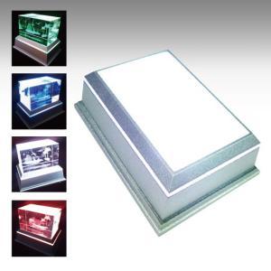 【新型LEDチップ搭載】 LEDライトステージ ディスプレイライト 台座 単色モード搭載 フィギュアやディスプレイ展示に 【NKLS-46SL単品】