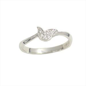 ティルリル TirrLirr K10ホワイトゴールド ダイヤモンド リング TRG-001-11 9号|ginzahappiness
