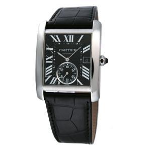 カルティエ Cartier 腕時計 タンクMC W5330004 ブラック|ginzahappiness