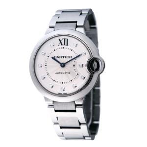 カルティエ Cartier 腕時計 バロンブルー WE902075 シルバー|ginzahappiness