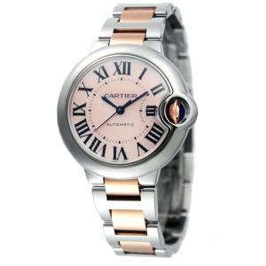 カルティエ Cartier 腕時計 バロンブルー W6920098 ピンク|ginzahappiness