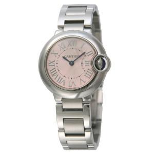 カルティエ Cartier 腕時計 バロンブルー W6920038 ピンク|ginzahappiness