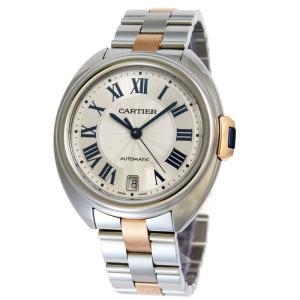 カルティエ Cartier 腕時計 クレ ドゥ カルティエ W2CL0003 ホワイト|ginzahappiness