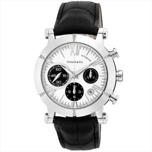 ティファニー Tiffany & Co. メンズ腕時計 AtlasGent Z1000.82.12A21A71A シルバー/ブラック|ginzahappiness