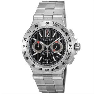 ブルガリ BVLGARI メンズ腕時計 ディアゴノプロフェッショナル DP42BSSDCH(101655) ブラック ginzahappiness