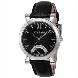 ブルガリ BVLGARI メンズ腕時計 ソティリオブルガリ SB42BSLDR(101706) ブラック ginzahappiness