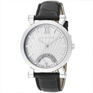 ブルガリ BVLGARI メンズ腕時計 ソティリオブルガリ SB42WSLDR(101707) ホワイト ginzahappiness