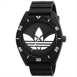アディダス adidas 腕時計 ADH2967 SANTIAGO ブラック ホワイト|ginzahappiness