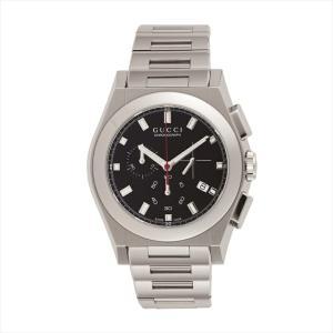 グッチ GUCCI メンズ腕時計 パンテオン YA115235 ブラック|ginzahappiness