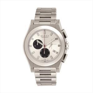 グッチ GUCCI メンズ腕時計 パンテオン YA115236 シルバー/ブラック|ginzahappiness