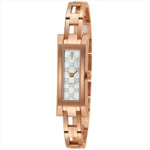 グッチ GUCCI 腕時計 G-LINK ホワイトパール YA110522|ginzahappiness