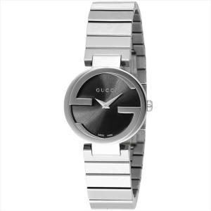グッチ GUCCI 腕時計 INTERLOCKING ブラック YA133502|ginzahappiness