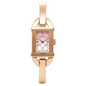 グッチ GUCCI 腕時計 レディース 6800 ピンクパール YA068583|ginzahappiness