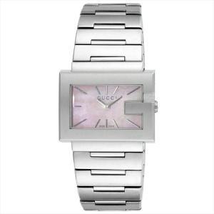 グッチ GUCCI レディース腕時計 Gレクタングル YA100518 ピンクパール|ginzahappiness