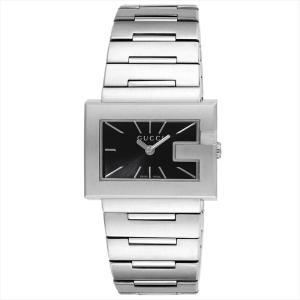 グッチ GUCCI レディース腕時計 Gレクタングル YA100519 ブラック|ginzahappiness