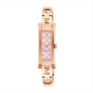 グッチ GUCCI レディース腕時計 G-LINK YA110521 ピンクパール|ginzahappiness