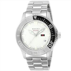 グッチ GUCCI メンズ腕時計 Gタイムレス YA126252 シルバー|ginzahappiness