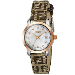 フェンディ FENDI 腕時計 ラウンドクラシコ ホワイトパール F218242DF|ginzahappiness