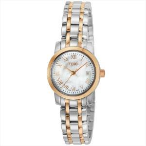 フェンディ FENDI 腕時計 ラウンドクラシコ ホワイトパール F217240|ginzahappiness