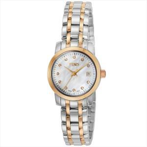フェンディ FENDI 腕時計 ラウンドクラシコ ホワイトパール F217240D|ginzahappiness