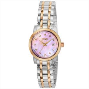 フェンディ FENDI 腕時計 ラウンドクラシコ ピンクパール F217270D|ginzahappiness