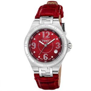 フェンディ FENDI腕時計 ハイスピード F414377B レッド|ginzahappiness