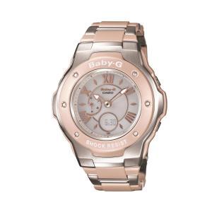 カシオ CASIO レディース腕時計 BABY-G MSG-3200C-4BJF シルバー/ピンク/シルバー/ピンク