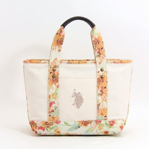 b3d1dfe9ae ユーエスポロアッスン U.S.POLO ASSN トートバッグ US1876 REVIVAL FLOWER TOTE YELLOW