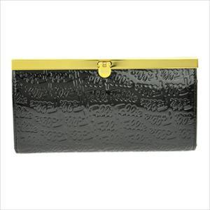 フォリフォリ FolliFollie 二つ折り長財布 WA0L028SK ブラック|ginzahappiness