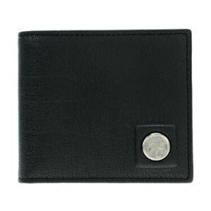 ハンティングワールド HUNTING WORLD 二つ折り財布(小銭入れ付) メンズ 575-1-233-BLK|ginzahappiness