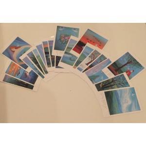 ポストカード Aセット20枚組み ginzahisa