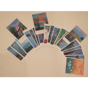 ポストカード Bセット20枚組み ginzahisa