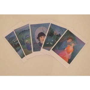 ポストカード 中原中也セット5枚組み ginzahisa