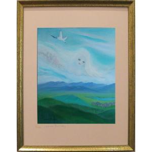 雲(ポスター額付き)|ginzahisa