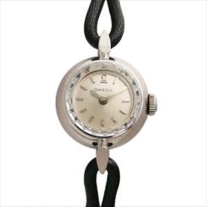 オメガ カクテルウォッチ カットガラス 11010 アンティーク レディース 腕時計 ginzarasin