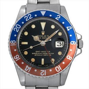 ロレックス GMTマスター 18番 1675 ブラックミラー...