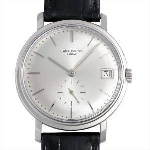 パテックフィリップ カラトラバ cal 27-460M 3445G-001 アンティーク メンズ 腕時計|ginzarasin