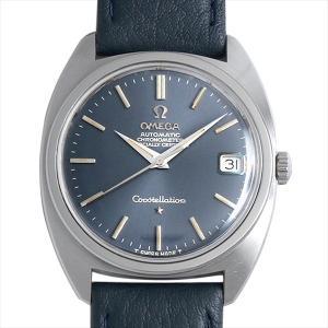 オメガ コンステレーション ST168.017 ブルー/Cライン/前期型 アンティーク メンズ 腕時計 ginzarasin