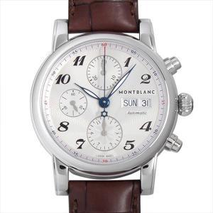 モンブラン スター クロノグラフ オートマティック 106466 新品 メンズ 腕時計|ginzarasin