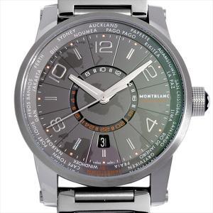モンブラン タイムウォーカー ワールドタイム エミスフェール サザンエミスフェール 108956 新品 メンズ 腕時計 ポイント10倍|ginzarasin