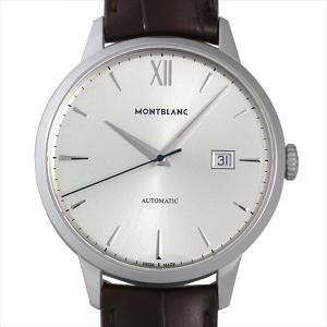 モンブラン ヘリテイジ スピリット デイト オートマティック 111580 新品 メンズ 腕時計|ginzarasin