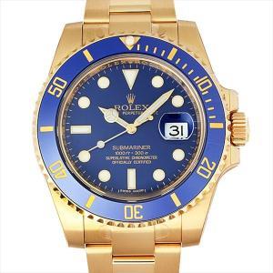 48回払いまで無金利 ロレックス サブマリーナ デイト 116618LB 新品 メンズ 腕時計|ginzarasin
