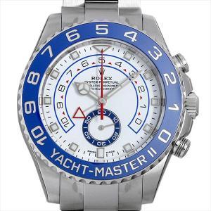ロレックス ヨットマスターII 116680 最新型 新品 メンズ 腕時計