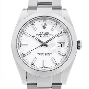 ロレックス デイトジャスト41 126300 ホワイト 新品...