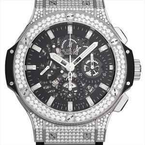 ウブロ アエロバン スティール パヴェ 311.SX.1170.GR.1704 新品 メンズ 腕時計|ginzarasin