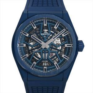48回払いまで無金利 ゼニス デファイ クラシック ブルーセラミック 49.9003.670/51.R793 新品 メンズ 腕時計 ginzarasin